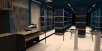 Diseño interior Supermercado La Oriental